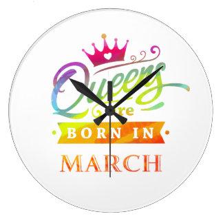 Relógio Grande O Queens é em março presente de aniversário