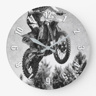 Relógio Grande Obteve algum ar! - Piloto do motocross