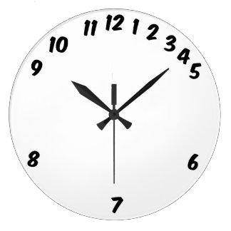 Relógio Grande Os horários laborais ajustaram em volta do pulso