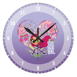 Relógio Grande Os titã adolescentes vão! gráfico do perfurador do