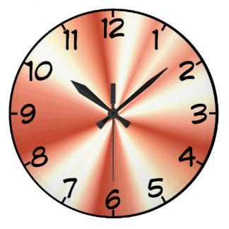 Relógio Grande Ouro cor-de-rosa olhar recolhido do cetim