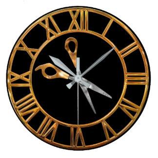 Relógio Grande Ouro do estilista