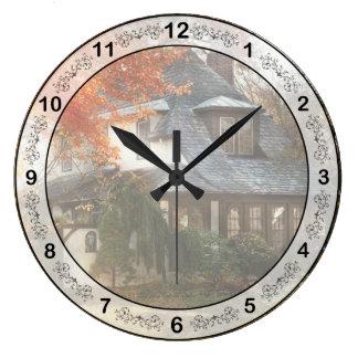 Relógio Grande Outono - em cada conto de fadas