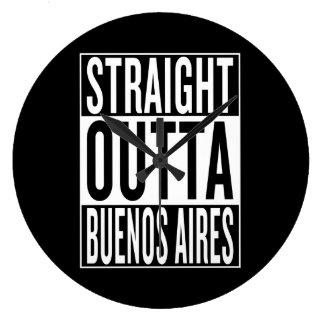 Relógio Grande outta reto Buenos Aires