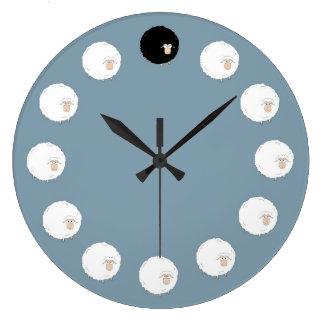 Relógio Grande Ovelhas negras
