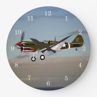 Relógio Grande P40 Warhawk Tunísia 1943