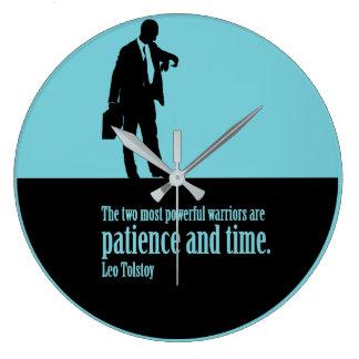 Relógio Grande Paciência e tempo