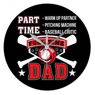 Relógio Grande Pai a tempo completo do crítico do basebol do