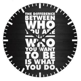 Relógio Grande Palavras inspiradores