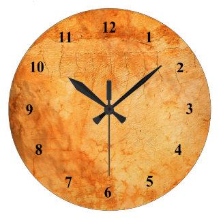 Relógio Grande Parede de tijolo italiana do terracotta do estilo