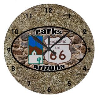 Relógio Grande Parques históricos do ~ da rota 66, arizona