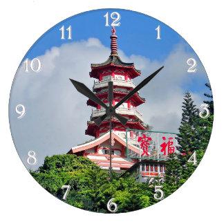 Relógio Grande Pérola de Hong Kong do pulso de disparo de parede