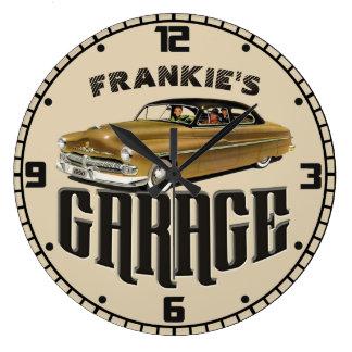 Relógio Grande Personalizou SUA garagem 1950 CONHECIDA de Mercury