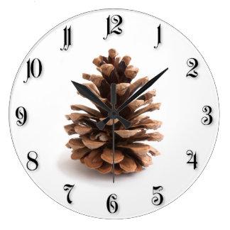Relógio Grande Pinecone