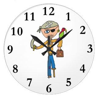 Relógio Grande Pirata