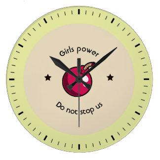 Relógio Grande Poder das meninas