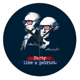 Relógio Grande Presente dos patriotas de Alexander Hamilton