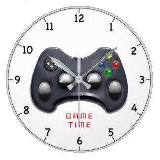 Relógio Grande presente video do gamer
