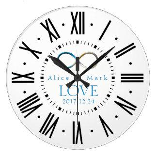 Relógio Grande Presentes do amor | da infinidade para sempre