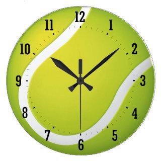 Relógio Grande Presentes legal do esporte do tempo | do tênis