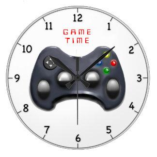 Relógio Grande presentes video do gamer