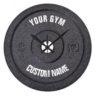 Relógio Grande Proprietário do Gym ou pulso de disparo engraçado