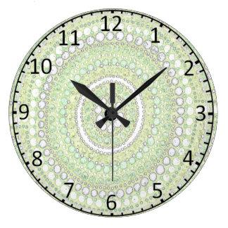 Relógio Grande Pulso de disparo aborígene da arte de Corroboree