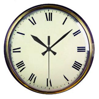 Relógio Grande Pulso de disparo antigo do vintage