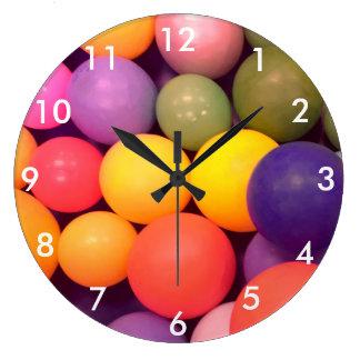 Relógio Grande Pulso de disparo colorido da fotografia do teste