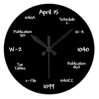 Relógio Grande Pulso de disparo customizável do contador -