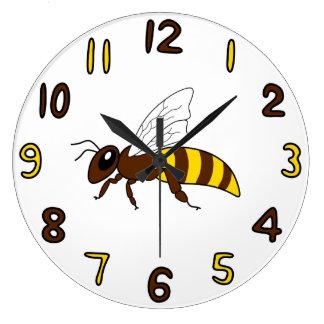 Relógio Grande Pulso de disparo da abelha