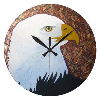 Relógio Grande Pulso de disparo da águia americana