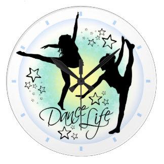 Relógio Grande Pulso de disparo da dança da vida da dança