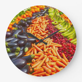 Relógio Grande Pulso de disparo da fruta