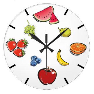 Relógio Grande Pulso de disparo da fruta do divertimento