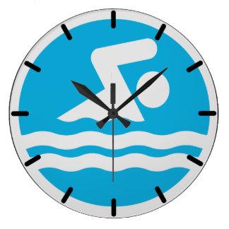 Relógio Grande Pulso de disparo da natação para o escritório do