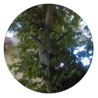 Relógio Grande pulso de disparo da natureza da árvore