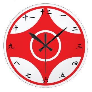 Relógio Grande Pulso de disparo de Kanku do karaté de Kyokushin