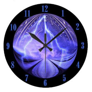 Relógio Grande Pulso de disparo de parede 2 do viagem do tempo