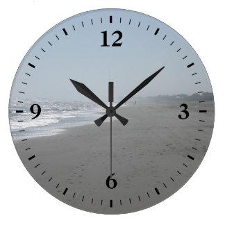 Relógio Grande Pulso de disparo de parede bonito da praia