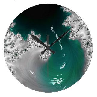 Relógio Grande Pulso de disparo de parede colorido original da