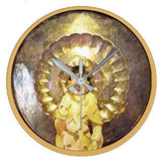 Relógio Grande Pulso de disparo de parede com a imagem divina de