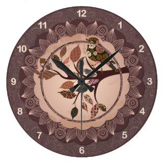 Relógio Grande Pulso de disparo de parede decorativo elegante do