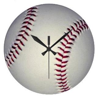 Relógio Grande Pulso de disparo de parede do basebol