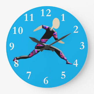 Relógio Grande Pulso de disparo de parede do corredor de Sprint