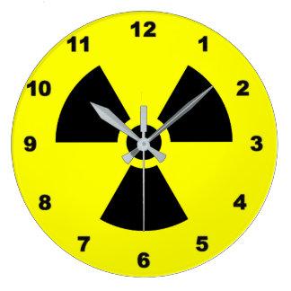 Relógio Grande Pulso de disparo de parede do sinal da radiação