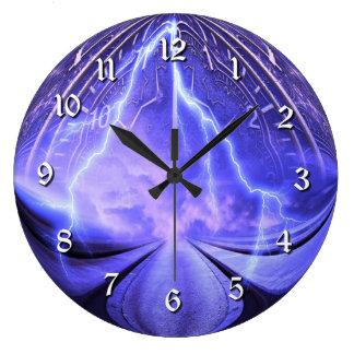Relógio Grande Pulso de disparo de parede do viagem do tempo