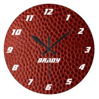 Relógio Grande Pulso de disparo de parede personalizado textura