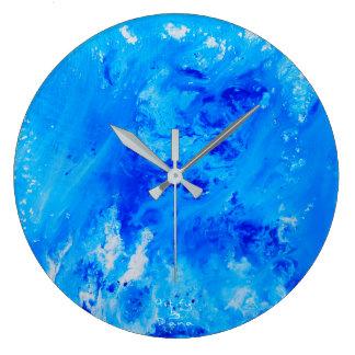 Relógio Grande Pulso de disparo de parede redondo da arte
