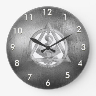 Relógio Grande Pulso de disparo de prata feito sob encomenda do